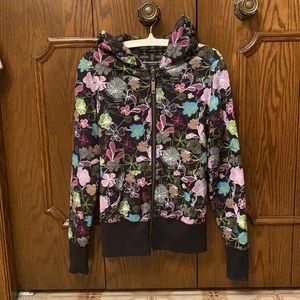 Awesome REVERSIBLE hoodie size S